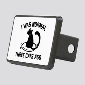 I Was Normal Three Cats Ago Rectangular Hitch Cove