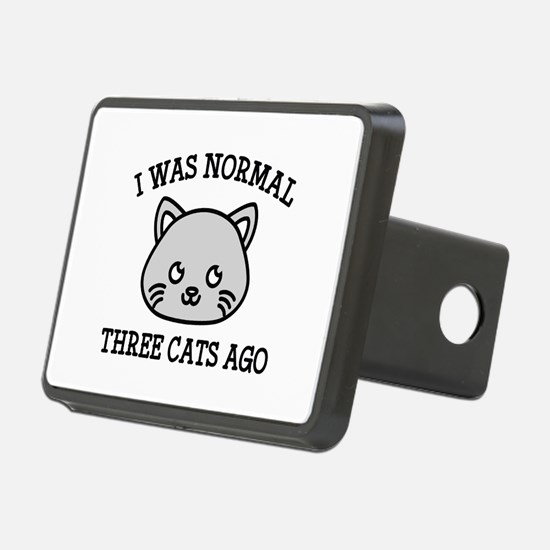 I Was Normal Three Cats Ago Hitch Cover