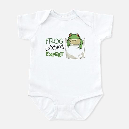 Frog Catching Expert Infant Bodysuit