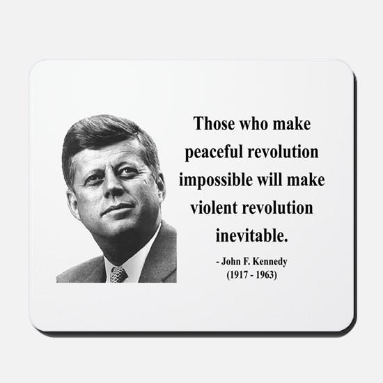John F. Kennedy 16 Mousepad