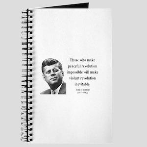 John F. Kennedy 16 Journal