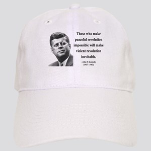 John F. Kennedy 16 Cap