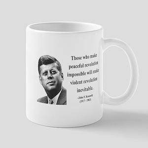 John F. Kennedy 16 Mug