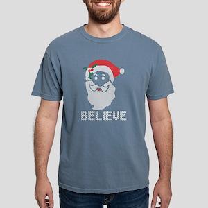 Santa Jesus Believe Christmas Ugly Sweater T-Shirt