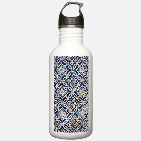 Cute Tilework Water Bottle