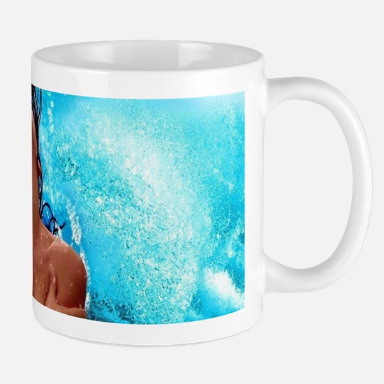 Sexy Mermaid In Water Mugs