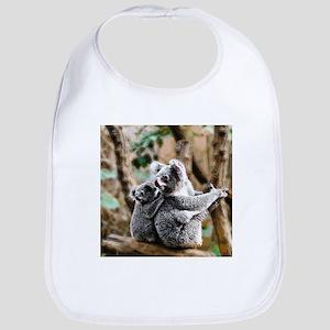 Koala Mum and Baby Bib