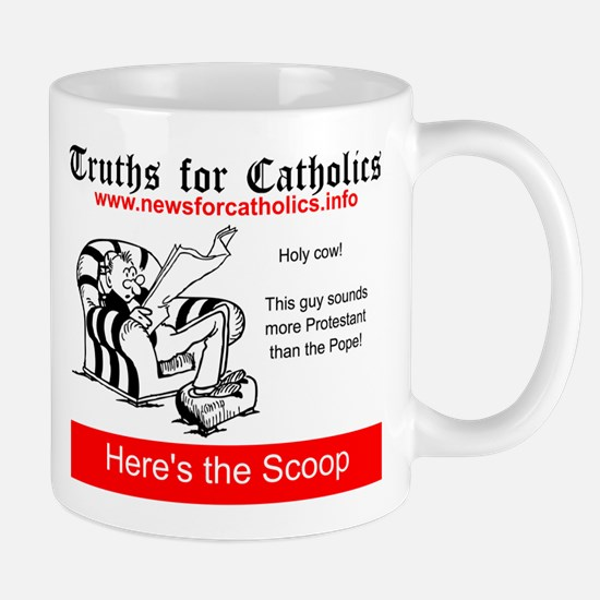 More Protestant than the Pope Mugs