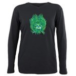 California Green Man Plus Size Long Sleeve Tee