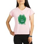 California Green Man Performance Dry T-Shirt
