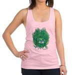 California Green Man Racerback Tank Top
