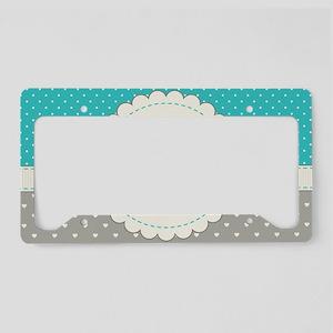 Cute Monogram Letter S License Plate Holder