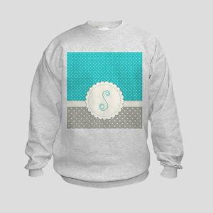 Cute Monogram Letter S Sweatshirt