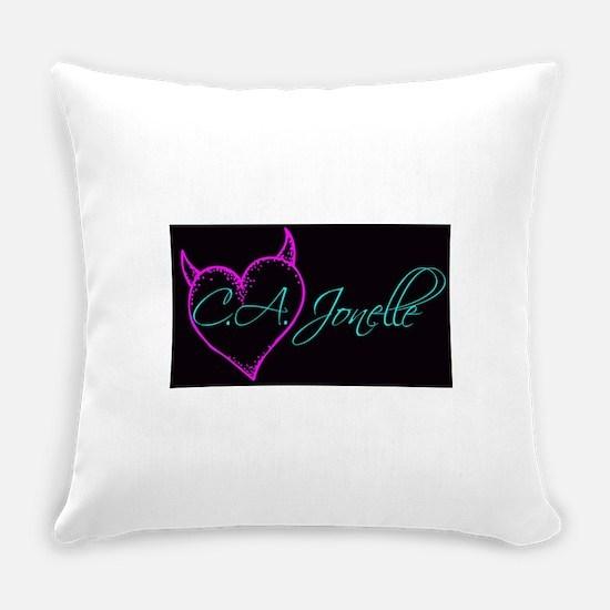 C.A. Jonelle Logo Everyday Pillow