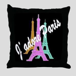 PARIS AMORE Throw Pillow