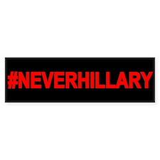 Never Hillary Bumper Sticker
