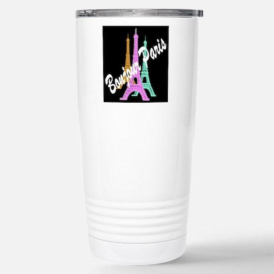 PARIS AMORE Stainless Steel Travel Mug
