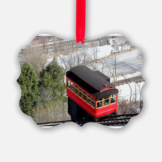 Pittsburgh Incline Ornament