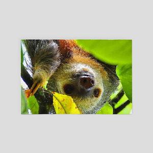 Sloth_20171109_by_JAMColors 4' x 6' Rug