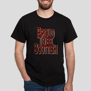 Proud To Be Scottish Red Tartan T-Shirt