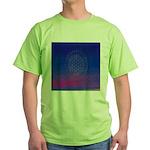 64.flowerolife plus.. Green T-Shirt