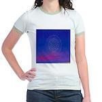 64.flowerolife plus.. Jr. Ringer T-Shirt
