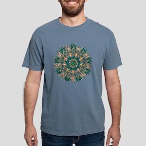 CANNABIS LEAF II TEAL/ORNG T-Shirt