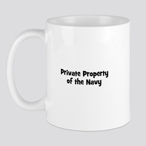 Private Property of the Navy Mug