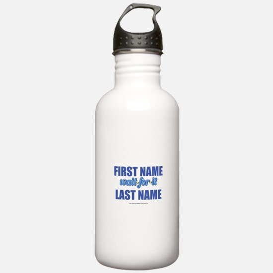 HIMYM Personalized Wai Water Bottle