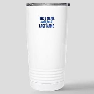 HIMYM Personalized Wait Stainless Steel Travel Mug