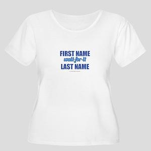 HIMYM Persona Women's Plus Size Scoop Neck T-Shirt