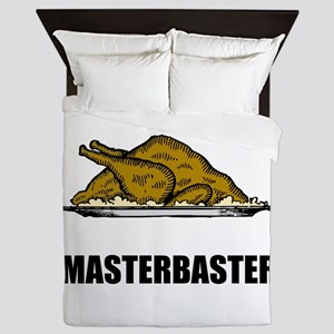 Masterbaster Funny Holiday Turkey Queen Duvet