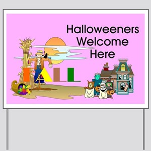 Halloween Fun Yard Sign