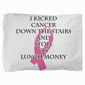 Breast Cancer Bully Pillow Sham