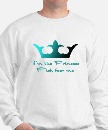 Fishing Princess2 Sweatshirt