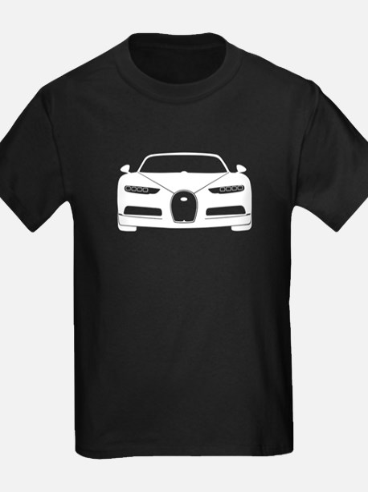 white bugatti chiron T-Shirt