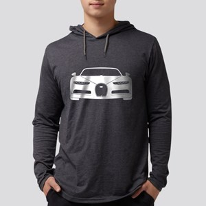 white bugatti chiron Long Sleeve T-Shirt