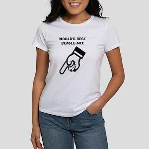 World's Best Beagle Mix Women's T-Shirt