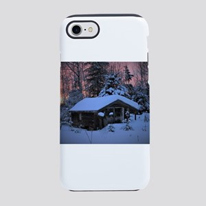 Snowed in Cottage iPhone 8/7 Tough Case