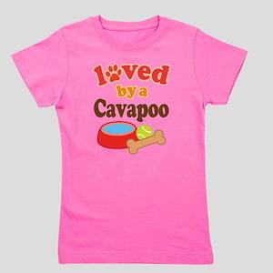 Cavapoo Dog Lover White T-Shirt
