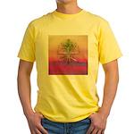47.treeolife..? Yellow T-Shirt