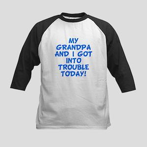 Grandpa And I Got Into Trouble Baseball Jersey