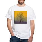 31.summertree.. White T-Shirt
