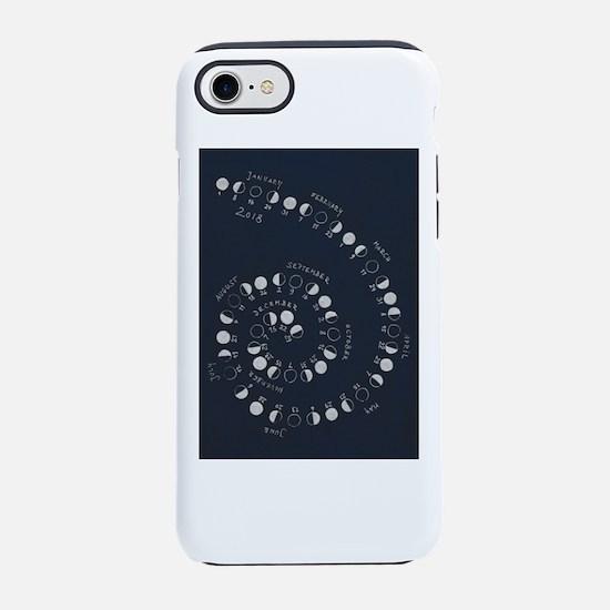 Lunar Calendar 2018 iPhone 8/7 Tough Case