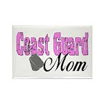 Coast Guard Mom Rectangle Magnet (10 pack)