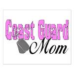 Coast Guard Mom Small Poster