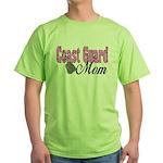 Coast Guard Mom Green T-Shirt