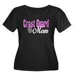 Coast Guard Mom Women's Plus Size Scoop Neck Dark