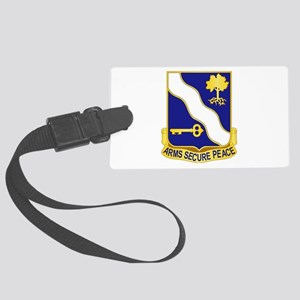 143rd Infantry Regiment Large Luggage Tag