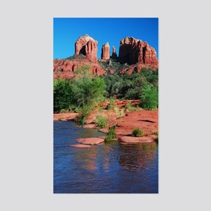 Cathedral Rock, Sedona Rectangle Sticker